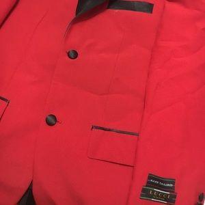 Red Men Tuxedo Lucci